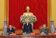 Tổng Bí thư chỉ đạo phiên họp Thường vụ Đảng ủy Công an Trung ương