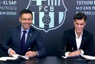 """""""Thương binh"""" Coutinho chào sân hợp đồng bom tấn tại Barcelona"""