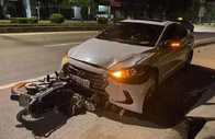 Thanh tra giao thông lái ôtô chạy ngược chiều tông tử vong nữ công nhân