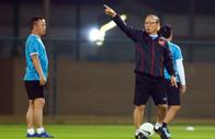 HLV Park Hang-seo thẳng thắn tuyên bố Việt Nam không đá để hòa UAE