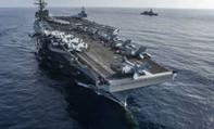 Chiến đấu cơ Mỹ rơi gần Okinawa, phi công được tàu sân bay giải cứu
