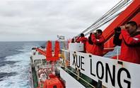 Trung Quốc phát hiện vật thể trắng nghi của máy bay mất tích