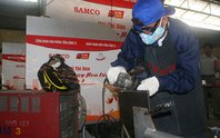 SAMCO thi thợ giỏi nghề hàn