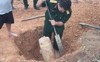 Làm đường vào khu di tích, phát hiện quả bom 125 kg