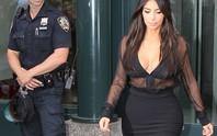 """Cảnh sát cũng mê ngắm Kim """"siêu vòng ba"""""""