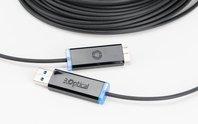 USB 3.0 tiến đến tốc độ ánh sáng với cáp quang