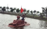Tàu ngầm Trường Sa chưa được ra biển