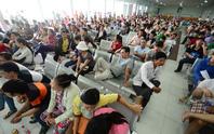 Ngày 21-11, Ga Sài Gòn bán vé tàu tết tập thể
