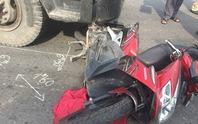 Gặp nạn trên đường đi chợ về, vợ chết, chồng bị thương