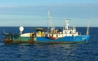 Tàu thăm dò dầu khí Trung Quốc đã ra khỏi biển Việt Nam