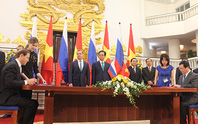Xung lực mới cho đối tác chiến lược Việt - Nga