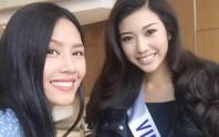 Người đẹp Thúy Vân hội ngộ Nguyễn Thị Loan ở Nhật Bản