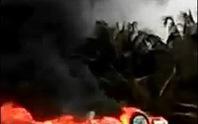 Xe cấp cứu tông xe máy rồi bốc cháy, 2 người chết tại chỗ