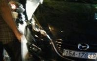 """Xe điên"""" Mazda 6 tông liên tiếp 8 người bị thương"""