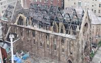 Liên tiếp 4 nhà thờ bị phóng hỏa