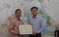 Hiệp sĩ giao thông được Sở GTVT TPHCM khen thưởng
