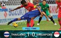 Thắng nhẹ Singapore, Thái Lan sớm vào bán kết
