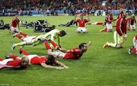 Clip - ảnh Xứ Wales ăn mừng kỳ tích Euro