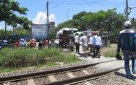 Băng qua đường sắt, một phụ nữ bị tàu tông chết tại chỗ