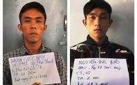Hai băng trộm, cướp sa lưới