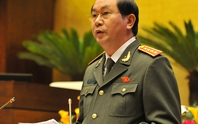 Tháng 3, Bộ trưởng Trần Đại Quang trình QH Luật Biểu tình