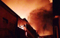Cháy lớn ở khu công nghiệp, thiêu rụi nhà xưởng nhiều công ty