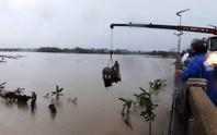 Ngập nặng vì mưa lớn và thủy điện xả lũ