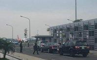 Thắt chặt an ninh ở Nội Bài chuẩn bị đón Tổng thống Obama
