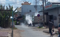 Rò rỉ khí độc trong khu dân cư, hàng trăm người tháo chạy