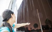 Mưa đã ập xuống Bình Dương sau 4 tháng khô hạn
