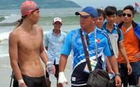 Huy Hoàng vuột huy chương bơi 10 km