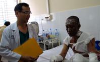 Vụ nổ tàu cá ở Phú Quốc: Một người bị phỏng 73%