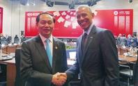 Chủ tịch nước gặp Tổng thống Mỹ, Nga và Chủ tịch Trung Quốc