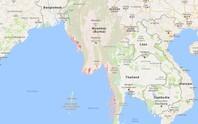 Myanmar bác tin máy bay lạ rơi xuống biển