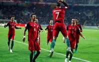 Ronaldo trút giận, Bồ Đào Nha đè bẹp Andorra