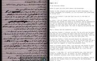 Công bố thư Bin Laden gửi cho Tổng thống Obama