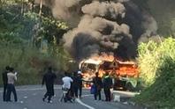 Xe cháy dữ dội sau tai nạn, nam thanh niên Hàn Quốc tử nạn