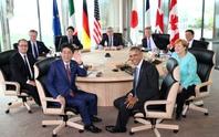 G7 cứng rắn về biển Đông