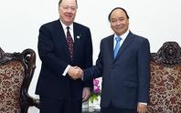 Thủ tướng tiếp Hội đồng Kinh doanh tháp tùng Tổng thống Obama