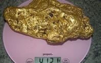 Tưởng nhặt phải rác, hóa ra là cục vàng 4 kg