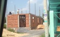 Đang kiểm điểm sai phạm đất đai, xây dựng ở Hóc Môn