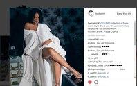 Rihanna mặc áo của nhà thiết kế Công Trí