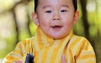 Mừng sinh nhật đầu đời, hoàng tử Bhutan siêu dễ thương