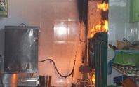 Cháy trường mầm non, hàng trăm trẻ sơ tán khẩn cấp