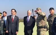 Bộ trưởng Quốc phòng Mỹ đến gần lò lửa Triều Tiên