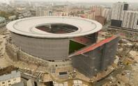 Chủ nhà World Cup 2018 ra mắt sân bóng dị nhất thế giới
