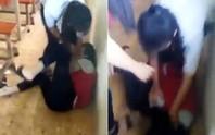 Làm rõ clip nữ sinh lớp 9 bị bạn đánh hội đồng