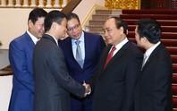 Thủ tướng Nguyễn Xuân Phúc tiếp Chủ tịch Tập đoàn Alibaba