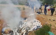 Đà Nẵng tiêu hủy hơn 35.000 bao thuốc lá lậu