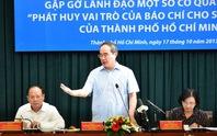 TP HCM: Đặt hàng các quận, huyện xử lý vấn đề báo chí nêu